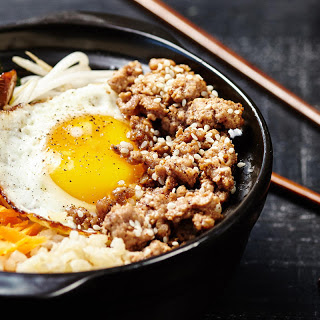 Brown Rice Pork Bibimbap