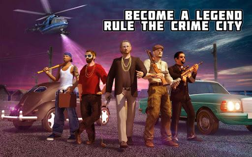 Crime City Mafia Gang War Car Theft Gangster Games screenshots 6