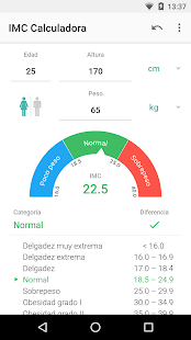 calcular imc en niños chilenos