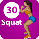 30 Day Squat Workout exercise for women for PC-Windows 7,8,10 and Mac