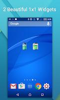 Screenshot of Battery Widget Show Percentage