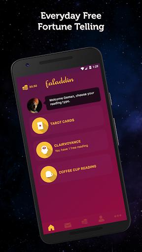 Faladdin - Fortune Teller, Tarot, Astrology 2.1.4.0 screenshots 2