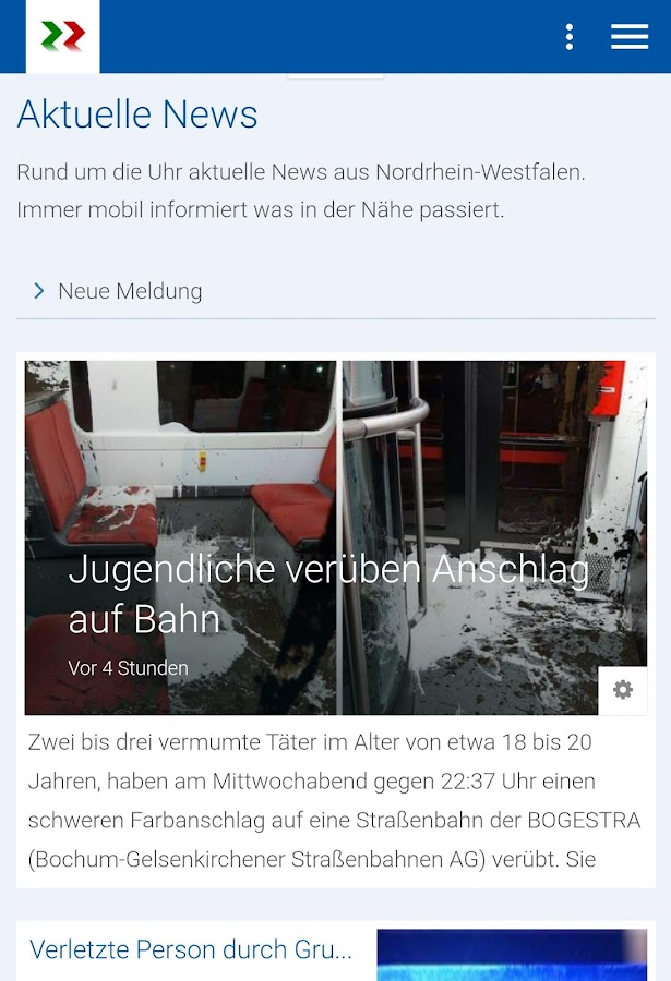 nrw-aktuell.tv – Screenshot