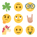 New Emoji Taco Unicorn Finger icon
