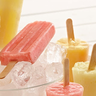 Watermelon Cooler Frozen Pops.