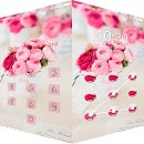 AppLock Theme Pink Flowers v 1.0.0