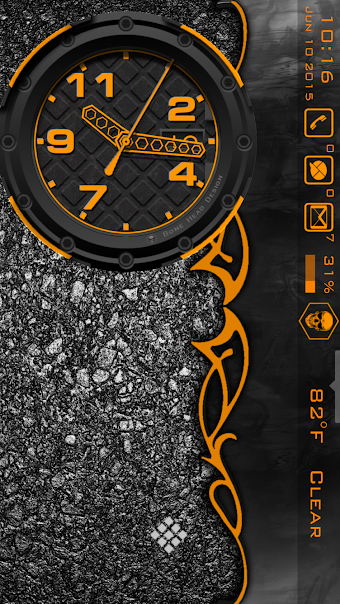 WatchMaker Live Wallpaper - screenshot