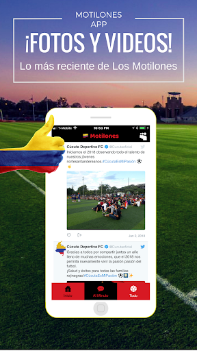 Cu00facuta Noticias - Futbol del Cu00facuta Deportivo 1.0 screenshots 3