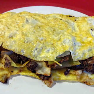 Vegetarian Cabbage Roll Omelet.