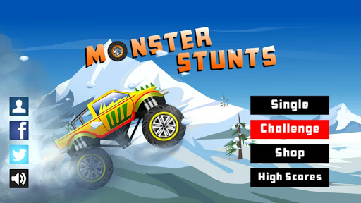 Monster Stunts -- monster truck stunt racing game  screenshots 1