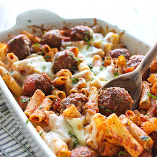 Pasta Bake With Meatball Recipes.