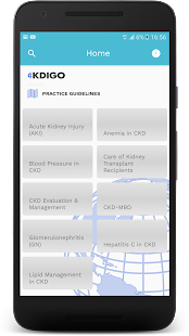 KDIGO Mobile- screenshot thumbnail
