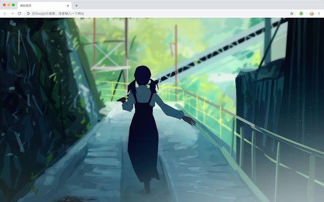 Fantasy Anime Scene New Tab, Wallpapers HD