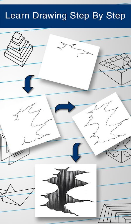 how to draw 3d screenshot - How To Draw 3d Diagrams