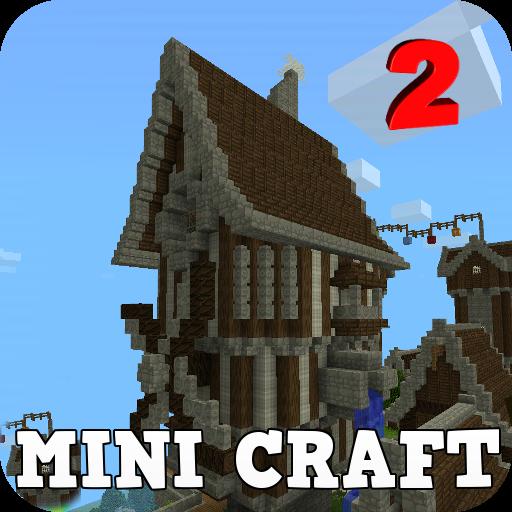 Mini Craft : Build & Survival