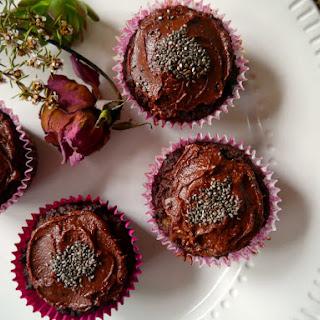 Chocolate Pumpkin + Hazelnut Muffins.