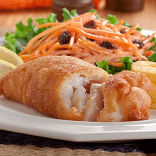 Fish Fillets in Beer Batter