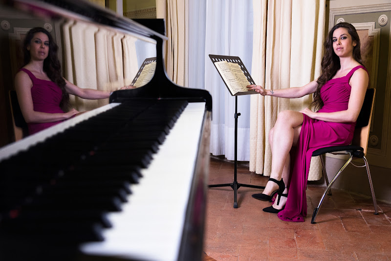 """Riflettendo """"piano"""" di Elisa Valdambrini ph"""
