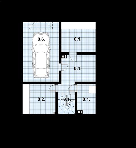 L-94 z bali - Rzut piwnicy
