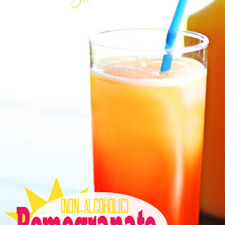 Pomegranate Sunrise (Non-Alcoholic)