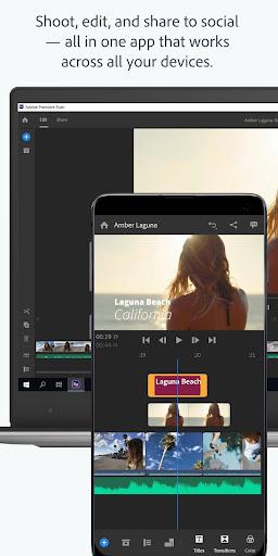 Adobe Premiere Rush u2014 Video Editor 1.5.19.3417 screenshots 2