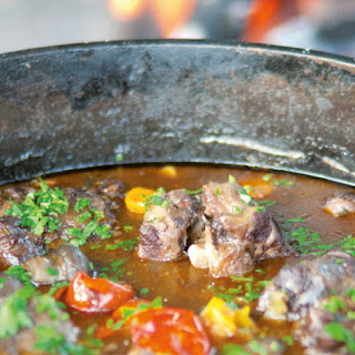 My Favourite Oxtail Potjie.