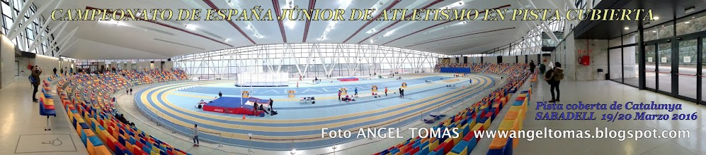 Photo: CAMPEONATO DE ESPAÑA JUNIOR DE ATLETISMO EN PC - SABADELL 19-03-16