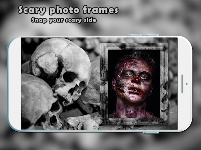 android Scary Photo Frames Screenshot 0