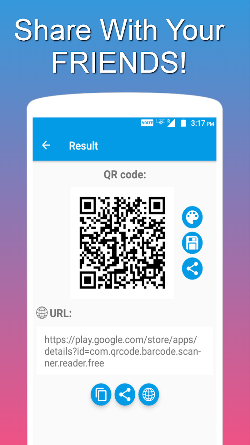 QR and Barcode Scanner PRO Screenshot 2