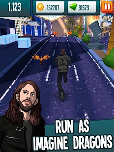 Stage Rush - Imagine Dragons Screenshot