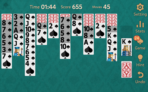 Spider Solitaire: Kingdom 4.0.4 Unlocked MOD APK Android 3