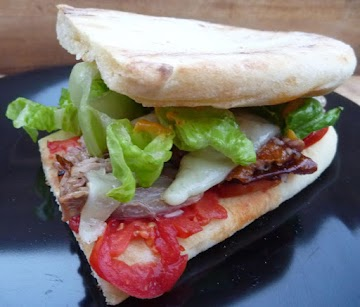 Ancho-orange Roasted Duck Sandwiches With Manchego Recipe