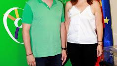 Ángeles Castillo y Juan Manuel Ruiz, presidenta y vicepresidente de la Mancomunidad de Municipios del Bajo Andarax.