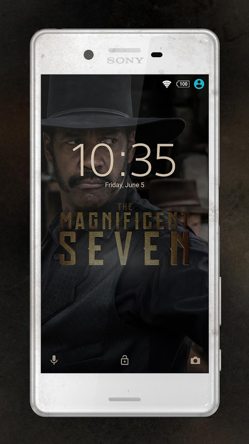XPERIA™ Magnificent 7 Theme- screenshot
