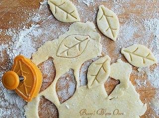 I decorated the dumplings with the scrapes of dough that were left by making...