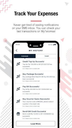 MyTelkomsel screenshot 5