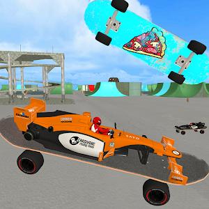 Crotchet SkateFormula: Skatepark Cop Chase