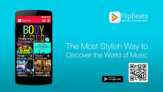 FlipBeats - Best Music Player- screenshot thumbnail