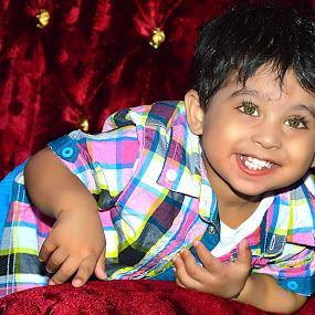 Smiley Face by Umair Nayab - Babies & Children Children Candids ( happy, toddler, smile, teeth, children photography,  )