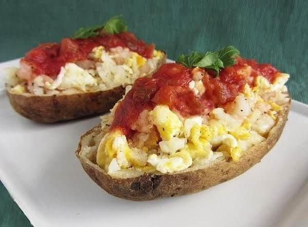 Gorgonzola Twice-baked Potatoes Boat Recipe