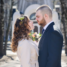 Wedding photographer Anastasiya Kotyagina (Sciurus). Photo of 17.04.2018