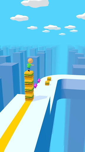 Cube Surfer! screenshots 1