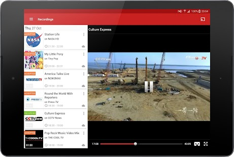 FilmOn Free Live TV & RECORD- screenshot thumbnail