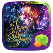 (FREE) GO SMS HAPPY NEW YEAR THEME