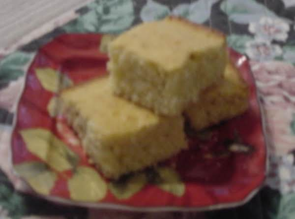 Sweet And Moist  Buttermilk Cornbread Recipe