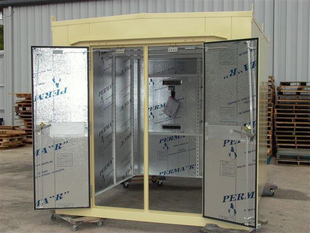 Walk-in-generator-enclosure