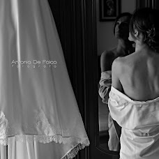 Wedding photographer Antonio De Falco (defalco). Photo of 07.06.2016