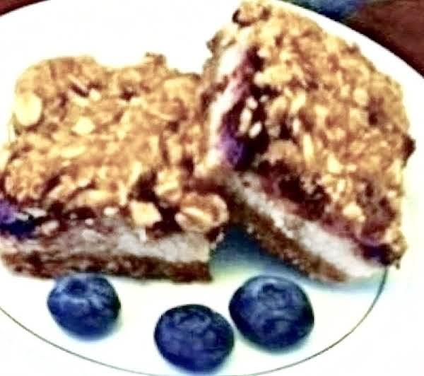 Blueberry Crisp Bars