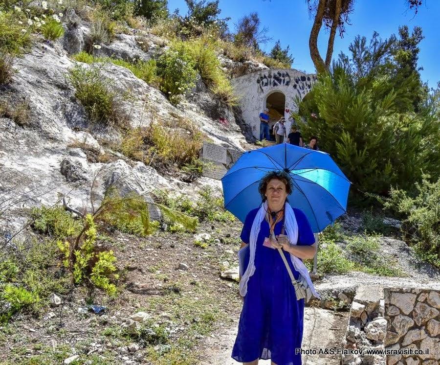 Гид в Израиле Светлана Фиалкова на экскурсии в Галилее.