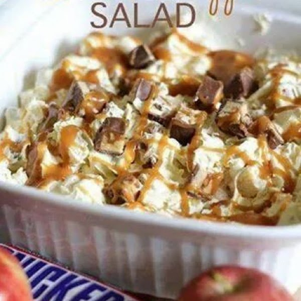 Snickers Caramel Apple Salad Recipe
